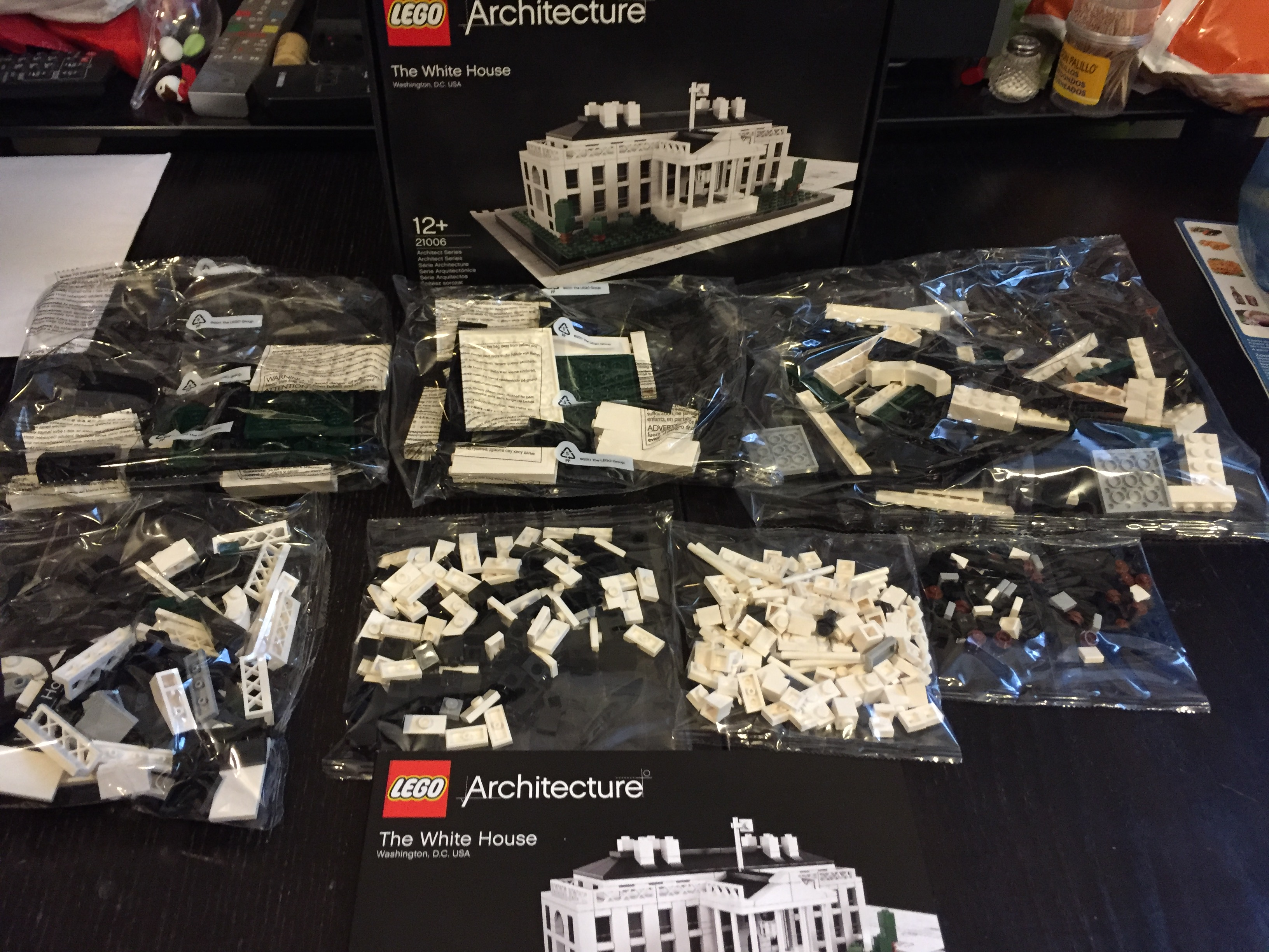 Afficher Le Sujet Review 21006 The White House Architecture Lego